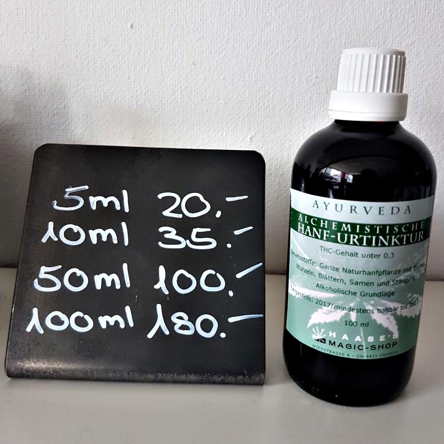 Alchemistische Hanf-Urtinktur 100ml