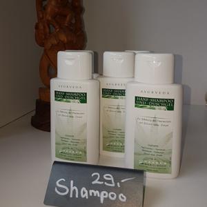 Hanf Shampoo und Dusche